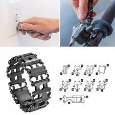 Multi-functional Bracelet Stainless Steel 29 kind Outdoor Pocket Multi Tools Kit