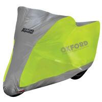 Oxford Aquatex Flourescent Motorcycle Motorbike Scooter Waterproof Cover Medium