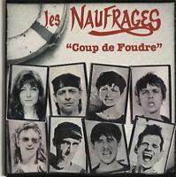 LES NAUFRAGES : COUP DE FOUDRE - [ CD ALBUM PROMO ]