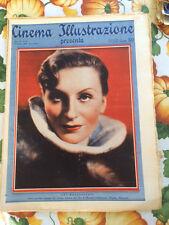 Cinema Illustrazione 1935 X n° 41 Evi Maltagliati   23/12