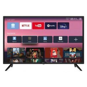SMART TV Android 32 Pollici Televisore HD TELESYSTEM T2 S2 Certificato Tivusat