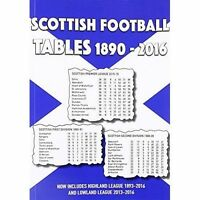 Scottish Football Tables 1890-2016 by Michael Robinson (Paperback, 2016)