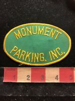 Vintage MONUMENT PARKING INC. Advertising Patch S83I