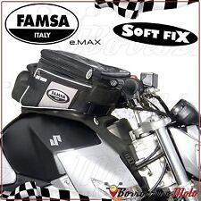FA244/34 SACOCHE DE RESERVOIR FAMSA E-MAX STD POUR SUZUKI GSR 600 2006-11
