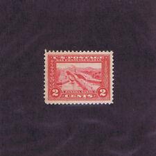 Sc# 398 Unused Og Mnh 2c Panama Canal, 1913, Vf Xf