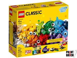 LEGO 11003 CLASSIC Mattoncini e occhi - Scatola 451 pezzi