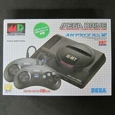 SEGA Mega Drive Mini Console Asian ver. Original 42 Games 2 6-Button Controllers