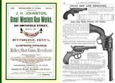 Great Western Gun Works 1888-1889 Catalog