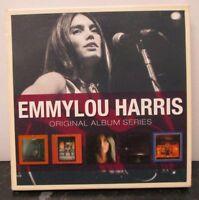 EMMYLOU HARRIS ~ Original Album Series ~ 5 x CD ALBUM BOX SET