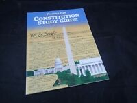 CONSTITUTION STUDY GUIDE By Prentice Hall **BRAND NEW**