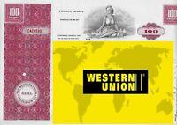 WESTERN UNION  *NUMERO UNO  NEI TRASFERIMENTI DI  VALUTA * AZIONE ORIGINALE ^