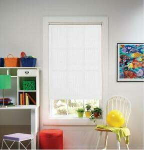 "NEW Bali Cut-to-Size White Cordless UV Blocking Roller Shade 73.25"" x 72"""
