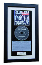 ONE DIRECTION Midnight Memories CLASSIC CD Album QUALITY FRAMED+FAST GLOBAL SHIP