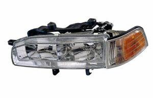 Headlight Front Lamp for 92-93 Honda Accord Left Driver