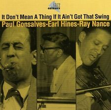 Paul Gonsalves /Earl - It Don't Mean a Thing If It [New CD] Germany - Impor