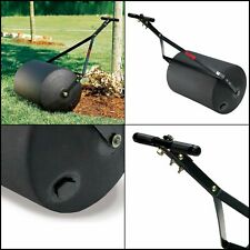 Lawn Roller Combination Push Tow Poly Heavy Duty Steel Towing Outdoor 270 lb