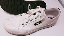 Oakley Tennis Shoes Mens Size 11 white with green