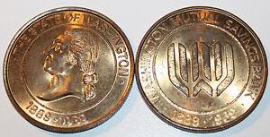 2x Washington Mutual Savings Bank Token 1889 - 1969