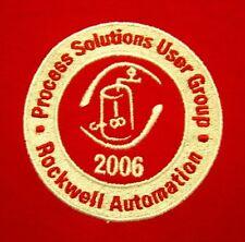 ROCKWELL AUTOMATION Milwaukee 2XL polo shirt 2006 Allen-Bradley XXL embroidery