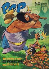 PEP 1969 nr. 50 - ARGONAUTJES (COVER) / VARIOUS COMICS