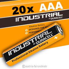 20x MICRO AAA MN2400 LR03 Batterien DURACELL INDUSTRIAL