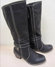 Women's Lady Godiva Kelly 2 Black Boots knee high Size 7
