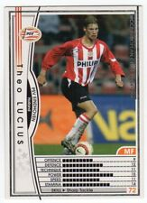 figurina CARD WCCF EUROPEAN CLUB 2004/05 PANINI NEW 104 PSV EINDHOVEN LUCIUS