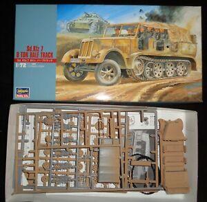 Hasegawa 31111 MT11:500 Sd.Kfz 7 German WWII Half Track 1/72 Model Kit