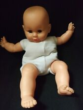 Vintage Life Sized Vinyl & Cloth Baby Doll by Eegee