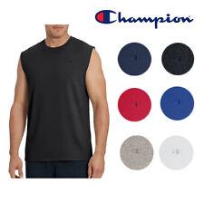 Champion Masculino Athletic Wear T0222 Sem Mangas Treino Clássico músculo Jersey Tee