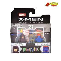 Marvel Minimates Series 58 X-Men: Future Past Movie Young Magneto & Mystique