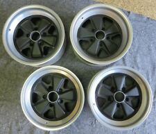 Set Of 4 Porsche 911 7x16 And 8x16 Staggered Fuchs Wheels Freshly Refinished
