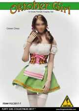1:6 Figure Flirty Girl's Oktoberfest Cosplay Clothing Set in Green FGC2017-7