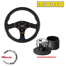 MOMO Team 280 Volante & Boss Kit Mozzo Per VW GOLF LUPO PASSAT POLO ma8016r