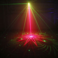 More details for 2pc uk disco dj party club stage crystal ball effect rgb light rotating led