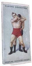 #D12. Set Of 1913 Wrestling & Jujitsu Jui-Jitsu Cigarette Cards