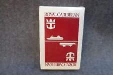 Vintage Playing Cards Royal Caribbean Cruise Line W 2 Ships+Logo Sealed DECK RED