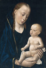 PAINTING BOUTS MADONNA AND CHILD XXL POSTER WALL ART PRINT LLF0155