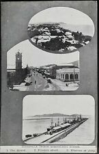 Queensland picture postcard of Townsville with Tasmanian reverse. Error