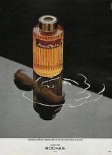 Publicité Advertising 1980 parfum  Moustache de ROCHAS ...!