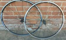 Shimano RS11 road bike 11 speed clincher 700c wheelset with skewers used vgc