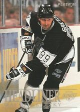 Fleer Wayne Gretzky Los Angeles Kings Original Hockey Cards