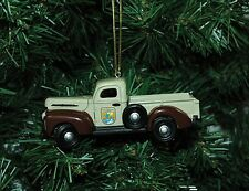 U. S. Fish & Wildlife Service 1942 Ford Pick Up Truck Christmas Ornament