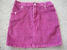 girls PURPLE CORDUROY ECKO RED SKORT skirt shorts EUC! logo STRETCHY trendy SZ 6