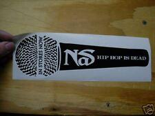 NEW NAS Hip Hop Is Dead Promo Album Sticker