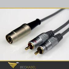 (13,28€/m) Powerlink auf 2x Cinch 1,8m für BANG & OLUFSEN B&O an Fremdverstärker