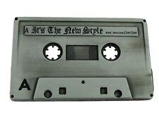 CASSETTE 80'S MUSIC BELT BUCKLE TAPE CD STEREO HIP HOP RETRO MEN'S GOTHIC TATTOO