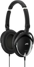 NEW JVC HA-S600-B-E  Victor stereo headphone 2-way foldable design Black JAPAN