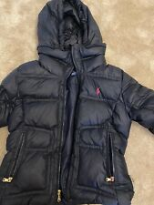 Girls age 8-10 Ralph Lauren warm and cosy soft Coat, Down Filled