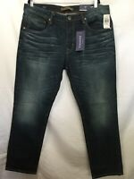 NWT Men's VIGOSS Jeans Mick 330 Slim Authentic Stretch  Size 40 x 30 Distressed